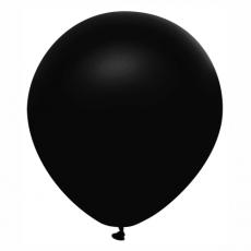 Balón metalický čierny s321 32 cm