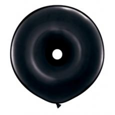 Balón čierny donutka DNT Black 40cm