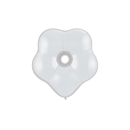 Balón biely kvetinka BSM White 40cm