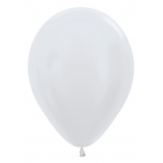 Balón metalický Biela 406