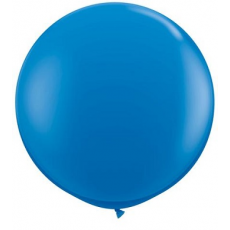 Balón Gigant Q 3FT Tmavo modrý /2ks/