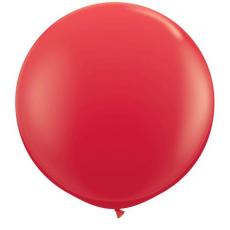 Balón červený veľký 90cm Q - 3FT
