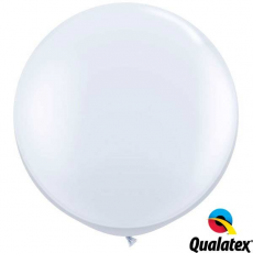 Balón Biely Qualatex 90cm - 3FT