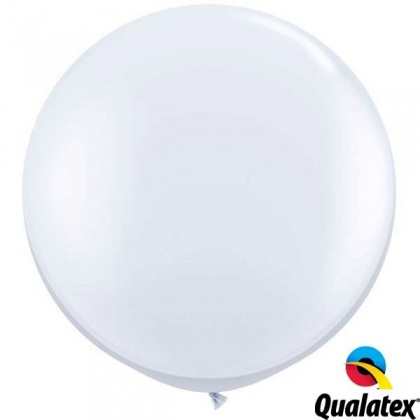 Balón Biely Qualatex 90cm - 3FT