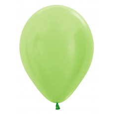 Balón metalický Zelený Limetka 431
