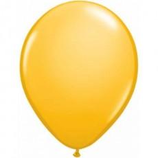Balón tmavo žltý Q 5´´ Goldenrod