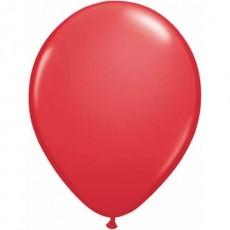 Balón červený Q 5´´ Red