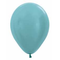 Balón metalický Tyrkys Aquamarín 436
