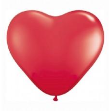 Balónik srdce červené Q 11´´ HRT Red