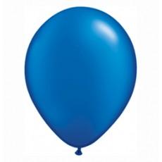 Balónik metalický modrý 28cm Sapphire Blue PRL