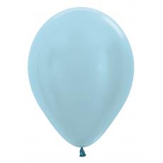 Balón metalický Bledo Modrý 440