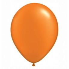 Balónik metalický oranžový 28cm Mandarin Orange PRL