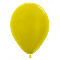 Balón metalický Žltý 520