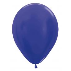 Balón metalický Modrá Hortenzia 542