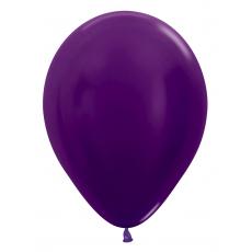 Balón metalický Fialový 551