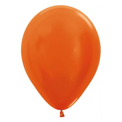 Balón metalický Oranžový 561