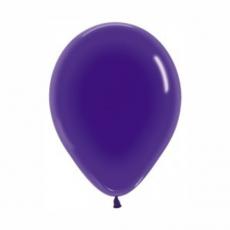 Balón priehľadný Fialový 351 R10 - 26 cm