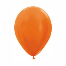 Balón metalický Oranžový 561 R10 - 26 cm