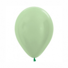 Balón metalický Zelený 430 R10 - 26 cm