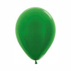 Balón metalický Zelený 530 R10 - 26 cm