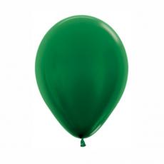 Balón metalický Tmavo Zelený 532 R10 - 26 cm