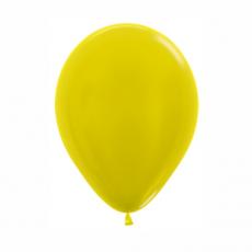 Balón metalický Žltý 520 R10 - 26 cm