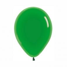Balón priehľadný Zelený 330 R10 - 26 cm
