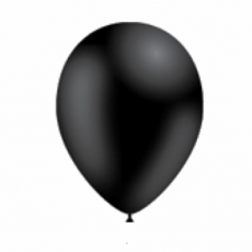 Balón Čierny p041 S10 - 26 cm