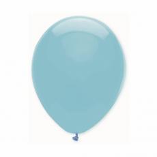 Balón bledo modrý s601 S10 - 26 cm