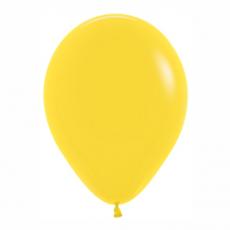 Balón Žltý 020 R12 - 30cm