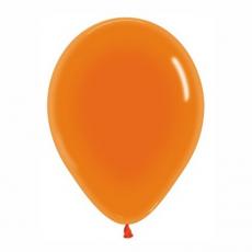 Balón Oranžový priehľadný 361 R12 - 30cm