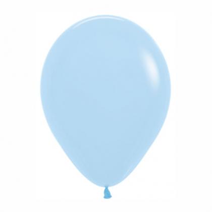 Balón bledo Modrý matný 640 R12 - 30cm