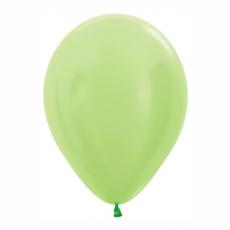 Balón metalický Zelený Limetka 431 R12 - 30cm