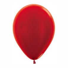 Balón metalický Červený 515