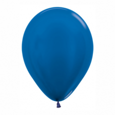 Balón metalický Modrý 540 R12 - 30cm