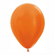 Balón metalický Oranžový 561 R12 - 30cm