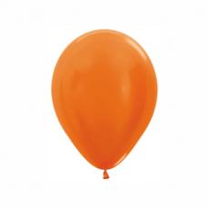 Balón metalický Oranžový 561 R5 - 13cm