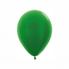 Balón metalický Zelený 530 R5 - 13 cm