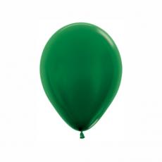 Balón metalický Tmavo Zelený 532