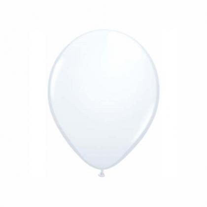 Balón biely Q 5´´ White