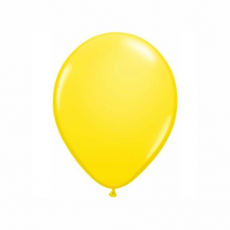 Balón žltý Q 5´´ Yellow