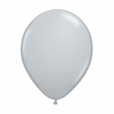 Balón šedý 28cm Gray