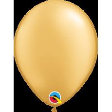 Balón metalický zlatý Q 5´´ Gold