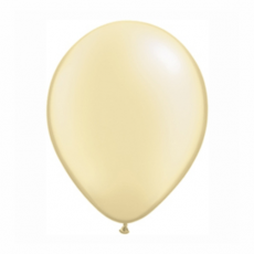 Balónik metalický Ivory 28cm PRL