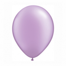 Balónik metalický bledo fialová 28cm Lavender PRL
