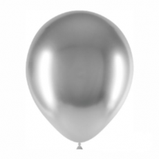Balón strieborný Brilliant 12G - 32cm