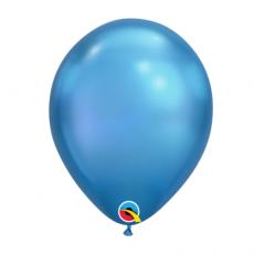 Balón metalický modrý Chrome Blue Q11 - 28cm