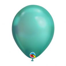 Balón metalický zelený Chrome Green Q11 - 28cm