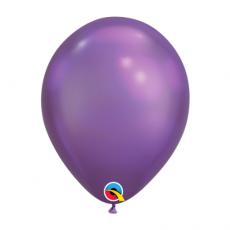 Balón metalický fialový Chrome Purple Q11 - 28cm