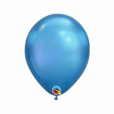 Balón metalický modrý Chrome Blue Q7 - 18cm